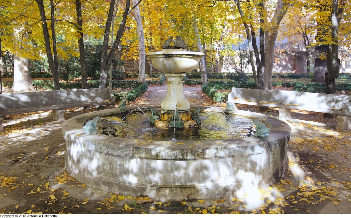 Fuente De Las Ranas Patrimonio Cultural Y Paisaje Urbano
